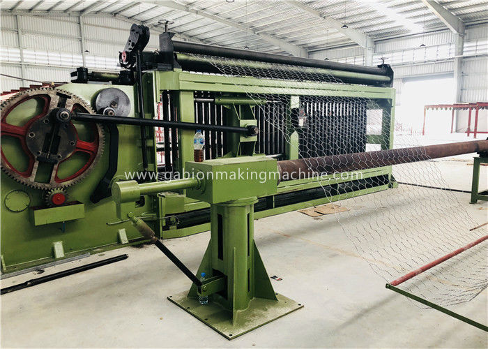 Industrial Gabion Production Line Double Twist Automatic Wire Mesh Welding Machine