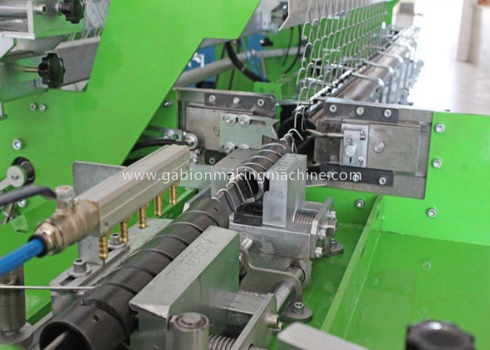 River Banks Diamond Mesh Wire Making Machine For 1.5-4.5mm Diameter Wire